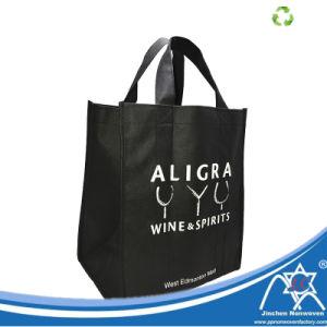 Comercio al por mayor de alta calidad resistente de 6 botellas botella de vino envasado Nonwoven Bag