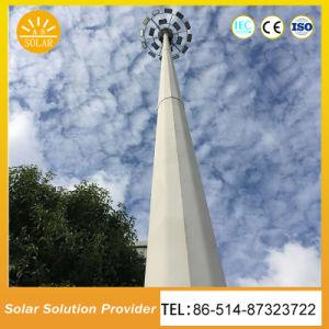 15m 20m de alto foco LED de alta potencia de la luz del mástil con sistema de elevación