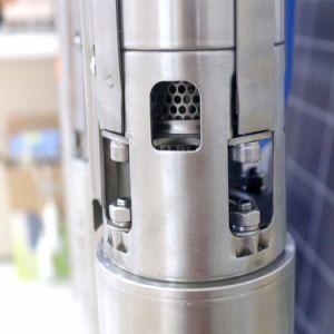 Sumergible DC de 4 pulgadas de la bomba de agua de pozo nuevo de la bomba de agua solar