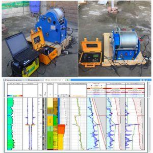 L'eau géophysiques Well logging equipment, trou de forage de journalisation, la journalisation de rayons gamma, la journalisation de résistivité électrique, l'enregistreur, Well Log et bien l'outil de journalisation
