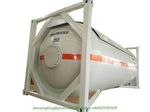 Amônia líquida anidro Isotanque nh3 contentor ISO de 20 pés 24000L