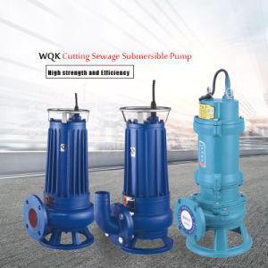 3' WQK esgoto corte bomba submersível