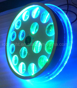 Nuevo 16X3W RGBW haz de luz LED para la etapa