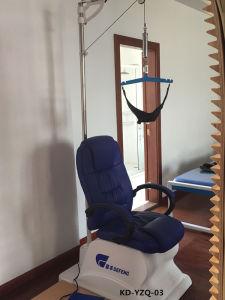 La tracción del cuello de la máquina de tracción de fisioterapia