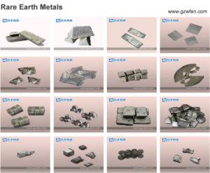 Lingotto del metallo del neodimio della terra rara