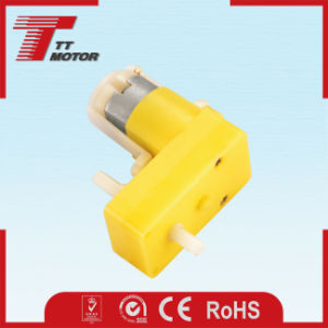 DC electric cepillo de plástico de los cochecitos de los engranajes del motor de 6V