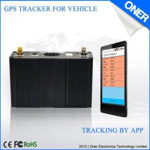 O dispositivo de localização por GPS com GPS e antena GSM