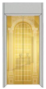 Роскошный лифт наружного зеркала заднего вида со стороны пассажира с золотым травления из нержавеющей стали