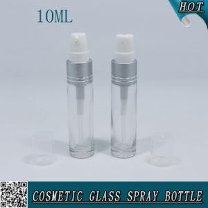 Vacío de 10ml Spray Frasco de vidrio transparente de perfumes cosméticos
