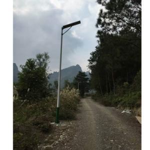 Al aire libre de alta potencia Calle luz LED 60W con protección IP65 Shenzhen todo en uno de los LED de luz de la calle de Energía Solar