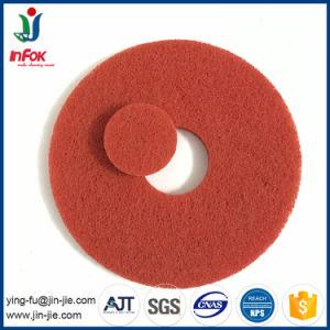 (YF-PP12) Nylon nettoyage décapage et de mise en mémoire tampon de lavage de plancher de brunissage Pad