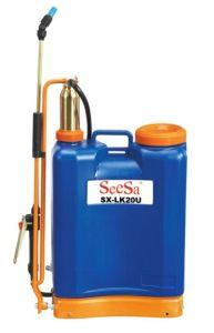 20L Manual agrícolas mochila/mochila de pressão de ar do cilindro da bomba de latão Pulverizador (SX-LC20U)