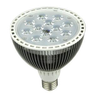 Las aletas regulable LED PAR38 12X1W E27 Spotlight Lampen
