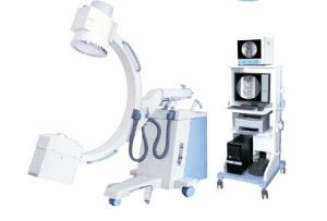 5kw Mobil haute fréquence C-Arm du système d'imagerie à rayons X