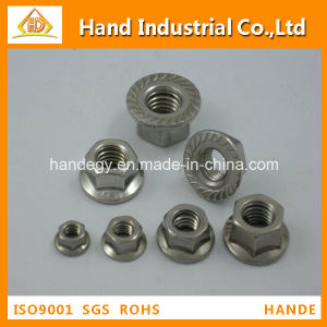 SS304 l'écrou à embase hexagonale en acier inoxydable DIN6923