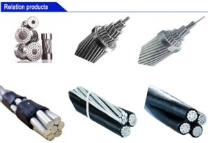 Collegare elettrico di ABC del filo di alluminio