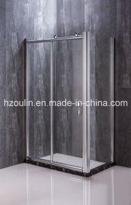Cabine de douche avec de grands rouleaux