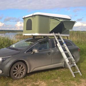 65ad80af442 La fibra de vidrio Hard Shell techo coche tienda para accesorios de camping  de 4X4