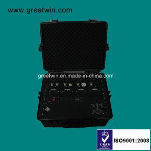 250W Pelican interferência de RF/Celular Portable Jammer (GW-CONGESTIONAMENTO VIP5)