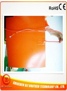 260W 12V 650*50*1,5 mm, calentador eléctrico flexible de caucho de silicona