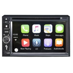 iPhone, iPod/2 DIN 6.2  TFT 접촉 Screen/DVD/Bluetooth를 위한 Carplay를 가진 차 DVD 플레이어