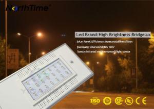 動きセンサーの時間制御を用いる1つのスマートなモノラル太陽街灯のすべて
