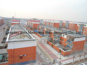 Alta calidad y estructura de acero de la luz de bajo costo de la construcción/ Taller de casa prefabricada