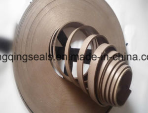 Guía de la cinta de teflón PTFE, bandas de desgaste de bronce