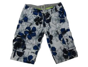 Cargo Shorts del Men del fiore con Fashion Style