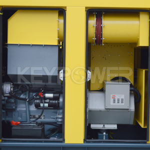 30kVA 작은 힘 엔진 침묵하는 유형 디젤 엔진 발전기 세트