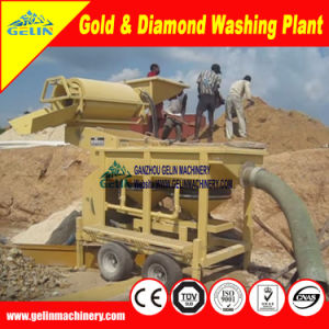 Máquina de mineração de ouro de transformação do diamante Zircon Estanho Chrome Coltan
