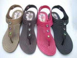 Выдувание женщин сандалии (ST9119)