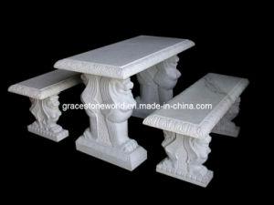 石造り表のベンチ、庭表のベンチ(GS-TB-540)