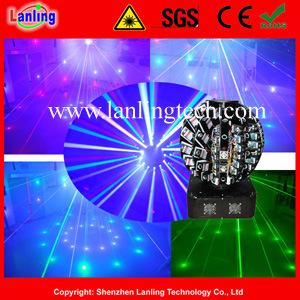 72レンズ13.2W RGB Moving HeadレーザーShow Equipment