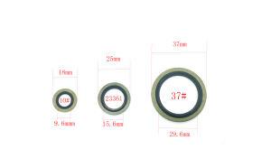 Haute qualité en acier inoxydable en provenance de Chine OEM Dowty joint NBR galvanisé FKM joint collé la rondelle en caoutchouc EPDM
