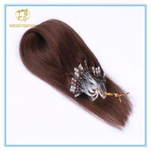 Kundenspezifische Farben-Qualitäts-Doppeltes gezeichnete Mikroring-Extensions-Haare mit Fabrik-Preis Ex-028