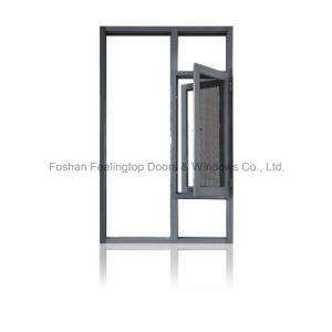 Finestra termica di alluminio del reticolato della selezione della stoffa per tendine della rottura (FT-W135)