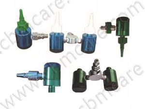 De Debietmeter van de Zuurstof van DIN met Transparante Luchtbevochtiger