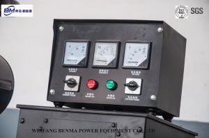 Customerized上海エンジンシリーズTeslaの交流発電機が付いているディーゼル発電機セット