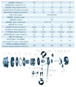 De nouvelles et la sécurité de grue de levage bloc de chaîne avec la norme ISO