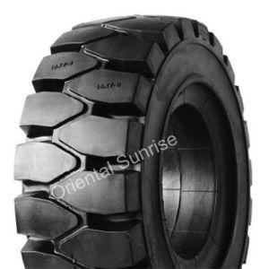 Elastischer neuer fester Industrie-Kissen-Gummireifen des Reifen-16X6-8 (16*6-8)