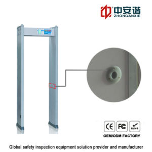 Metal detector di Secutity Digital dei banchi con 4 zone di Detection Visual Audible Alarm