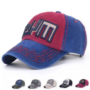Fashion Impressos promocionais Sarjado Algodão Baseball Golf Sport Caps (YKY3042)