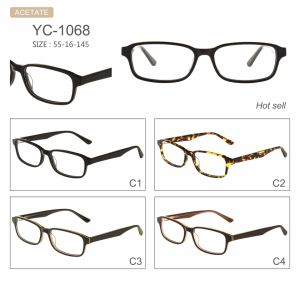 Fabriek van uitstekende kwaliteit van de Stijl van de Manier de Nieuwe verkoopt de Optische Frames Eyewear van de Acetaat