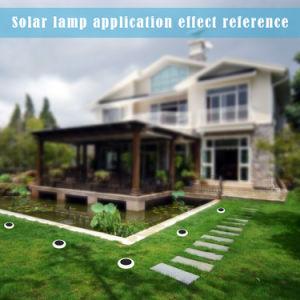 Blendenund buntes Gras-und Boden-Solareinlage-Licht