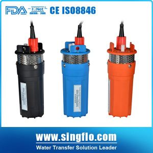 Singflo 6lpm 24 Volt Solar Submersible Water Pump 또는 Solar Powered Water Pump/Solar Water Pump System