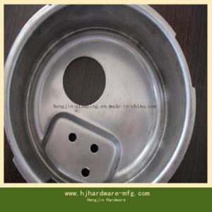 OEM/ODM Qualitäts-tiefes gezeichnetes Aluminiumteil mit dem Puder-Sprühen