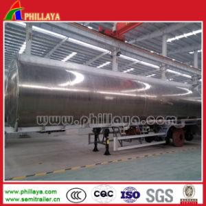 半重油ディーゼルタンクトラックのトレーラーのアルミ合金のタンカー