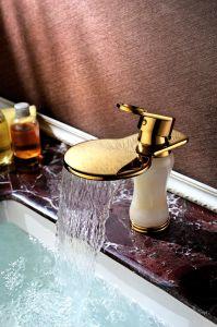 Jade (SD-L-002A)の金Color Basin Copper Faucet
