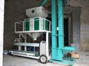 Riso granulare del fagiolo del seme del grano che riempie pesando la macchina della scala di insaccamento